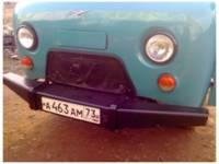 Обвес силовой передний на УАЗ 452