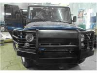 Бампер силовой усиленный передний на УАЗ 469