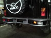 Бампер задний силовой на УАЗ 469