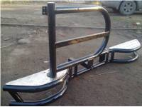 "Бампер задний силовой на УАЗ 469 ""Тайга"" с кронштейном запасного колеса"