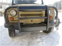 """Бампер передний на УАЗ 469 """"Корсар"""" увеличенный усиленный"""