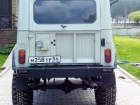 Бампер задний на УАЗ 469
