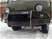 Бампер передний на УАЗ-452