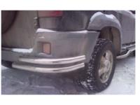 Уголок - защита заднего бампера УАЗ