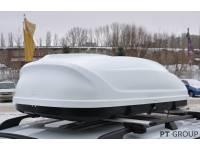 Бокс-багажник на крышу Аэродинамический Белый