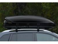 Бокс-багажник на крышу Аэродинамический Черный