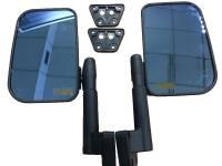 Зеркала заднего вида УАЗ ХАНТЕР,  с обогревом, голубой антиблик