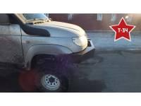"""Бампер """"Т-34 Зубр"""" передний усиленный на УАЗ Патриот, сталь 3, 4, 6 мм"""