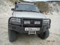 """Бампер """"Т-34-1"""" передний усиленный на УАЗ Патриот, сталь 3, 4, 6 мм"""