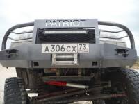 """Бампер """"Т-34-4"""" передний усиленный на УАЗ Патриот, сталь 3, 4, 6 мм"""