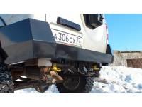 "Бампер ""Т-34"" задний усиленный на УАЗ Патриот"