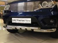 Передняя защита новый Уаз Патриот