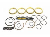 Ремкомплект КПП н/о УАЗ (легковой) стопорные кольца (№056-01)