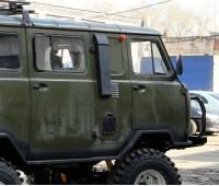 Шноркель на УАЗ 452 Буханка LLDPE