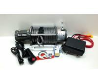 Лебедка электрическая 12V Electric Winch 12000lbs/5443 кг с кевларовым тросом 12мм