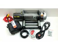 Лебедка 12v Electric Winch 12000lbs/5443 кг влагозащищенная IP66 со стальным тросом