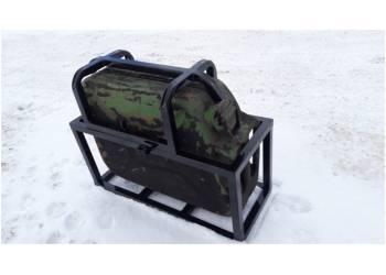 Кронштейн крепления КАНИСТРЫ на все виды багажников ЯЩИК