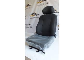Сиденье водительское УАЗ 452 Люкс, с креплениями нового образца 1 шт