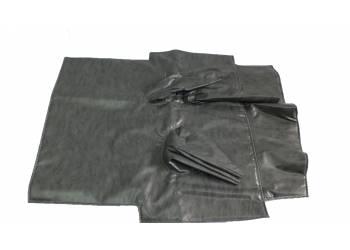 Коврик под рычаги УАЗ 469 темно-серый Винил.кожа, ватин, поролон (5мм)