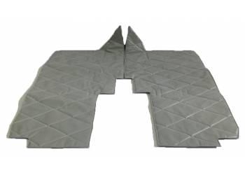 Коврики под сидения УАЗ-452 светло-серый «прострочка ромбом»