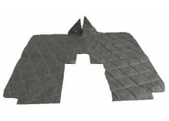 Коврики под сидения 452 темно-серый прострочка ромбом
