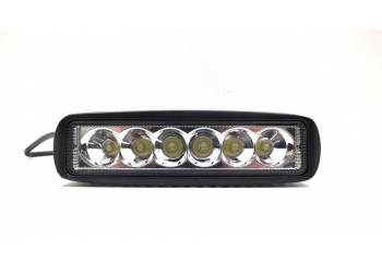 Фара светодиодная P003 18W 6 диодов по 3W дальний свет