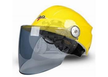 Шлем мотоциклетный открытого типа Bailide желтый BLD-112 yellow