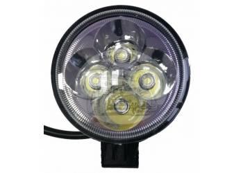 Фара светодиодная W002 12W 4 диода по 3W (габаритные размеры 80*110*60мм цветовая температура 6000K 60° ближний свет, 30° дальний свет)