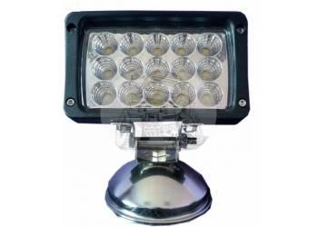 Фара светодиодная Х004 45W 15 диодов по 3W (габаритные размеры 155*125*75мм цветовая температура 6000K 30° дальний свет)
