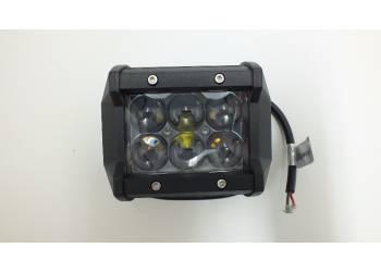 Фара светодиодная CH019В 18W 6 диодов по 3W 4D дальний свет