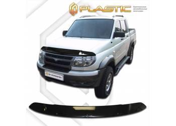Дефлектор капота UAZ Pickup (Classic черный) 2009–2014