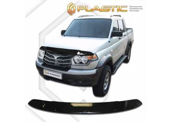 Дефлектор капота UAZ Pickup (Classic черный) 2014-