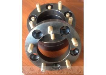 Расширитель колеи УАЗ Проставки (5*139,7) 40 мм (сталь), 1 шт