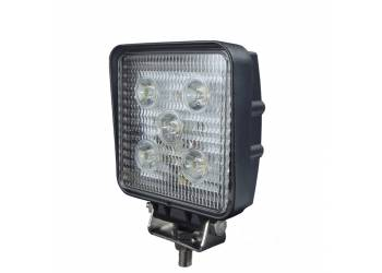 Фара дополнительного освещения LED 15W 5 диодов по 3Вт, дальний свет.