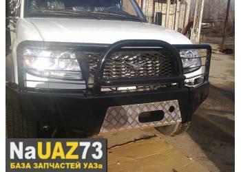 Бампер силовой передний на УАЗ Патриот «Рысь» 2015г