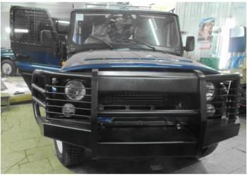 Бампер силовой усиленный передний на УАЗ 469 Шершень