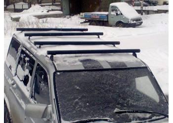 Поперечные реллинги на УАЗ Патриот Пикап 2 шт