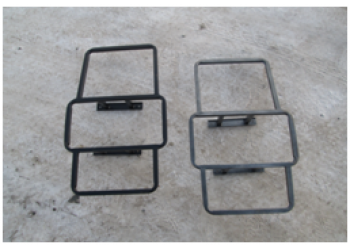 Лестница на УАЗ  Хантер (вместо крепл. зап. колеса)