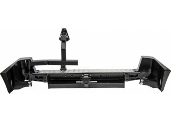 Бампер РИФ задний УАЗ Патриот с квадратом под фаркоп и калиткой стандарт