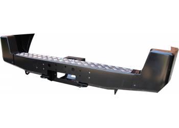 Бампер РИФ задний УАЗ Патриот с площадкой под лебедку стандарт