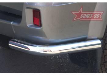 Защита задняя уголки d 60 на УАЗ Патриот