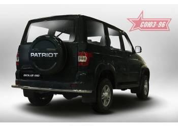 Защита задняя d60 на УАЗ Патриот 2015-