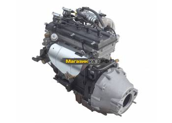 Двигатель ЗМЗ-40911 ( А/М УАЗ СГР,Евро-4,КПП-4ст.,КМПСУД BOSCH,шкиф под 2 полик.ремня,с кроншт.ГУР)
