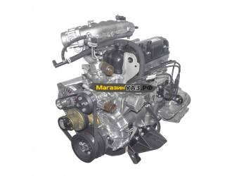 Двигатель УМЗ (авт. ГАЗель Бизнес Евро-4) с поликл. ремнем привода агрегатов