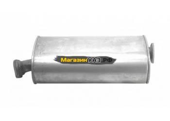 Глушитель УАЗ Хантер УМЗ-4213 (Баксан) (нерж) (315194-1201010)