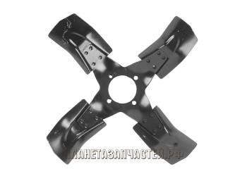 Вентилятор радиатора под гидромуфту (метал, 4 лопастн.) (3741-1308010-01)