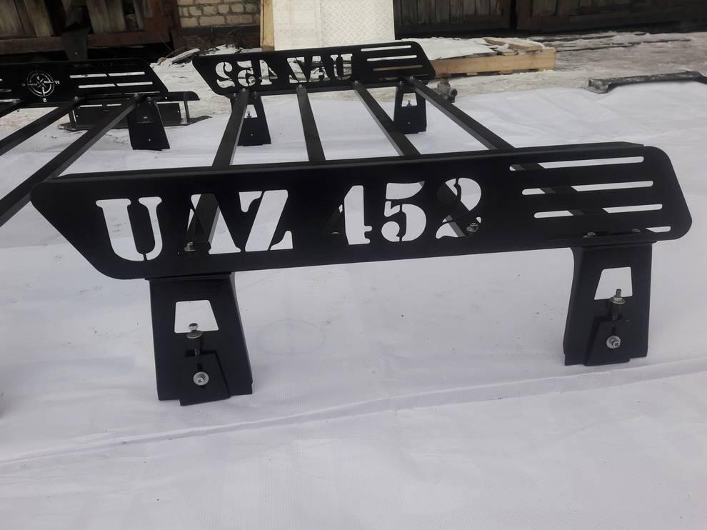 Багажник на УАЗ 452 КОМПАС 3-х секционный, полностью разборный