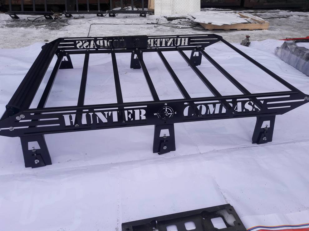 Багажник на УАЗ 469, Хантер КОМПАС, полностью разборный